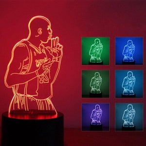 Kobe Bryant (LA Lakers) 3D LED Lamp LEDMiracles