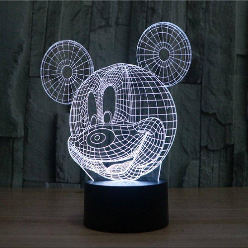 Mickey Mouse 3D LED Lamp | LEDMiracles