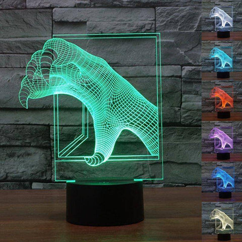 Image of Monster Claws 3D LED Lamp LEDMiracles