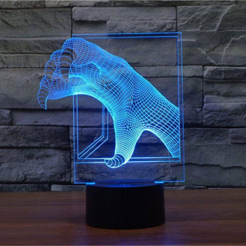 Monster Claws 3D LED Lamp