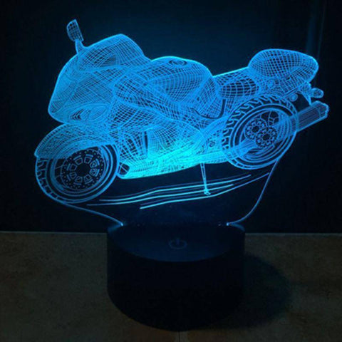 Motorcycle 3D LED Lamp LEDMiracles