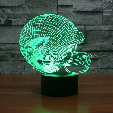 Image of Philadelphia Eagles 3D LED Lamp LEDMiracles