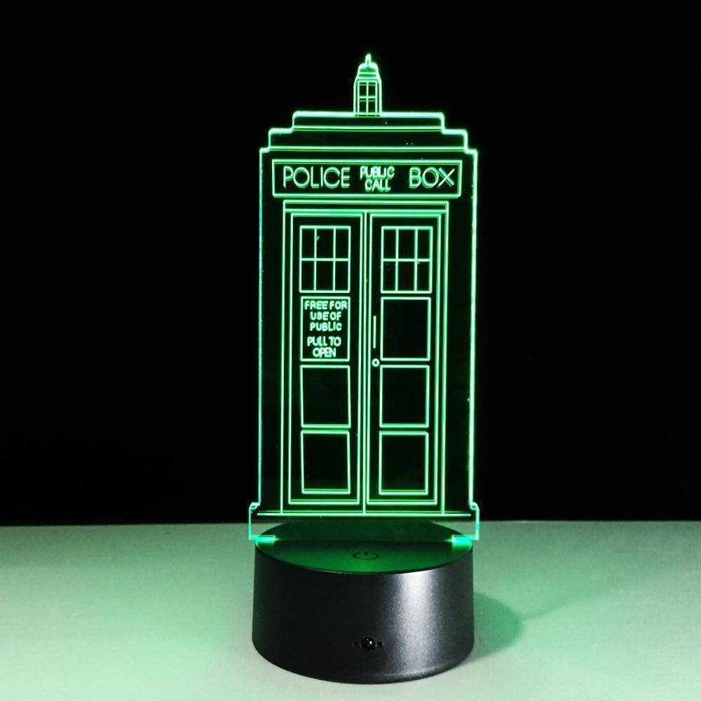Doctor Who Tardis 3D LED Lamp
