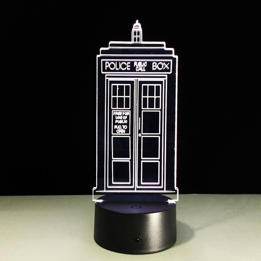 Doctor Who Tardis 3D LED Lamp LEDMiracles