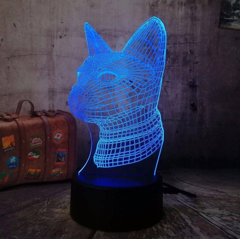 Image of Cat 3D LED Lamp LEDMiracles