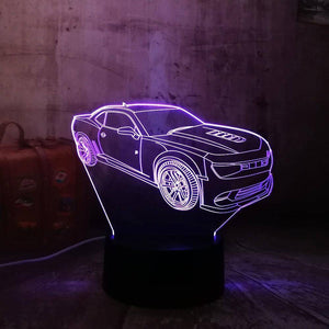 Fancy Car 3D LED Lamp LEDMiracles