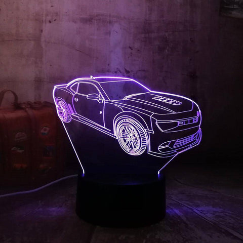 Fancy Car 3D LED Lamp