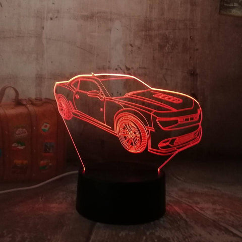 Image of Fancy Car 3D LED Lamp LEDMiracles