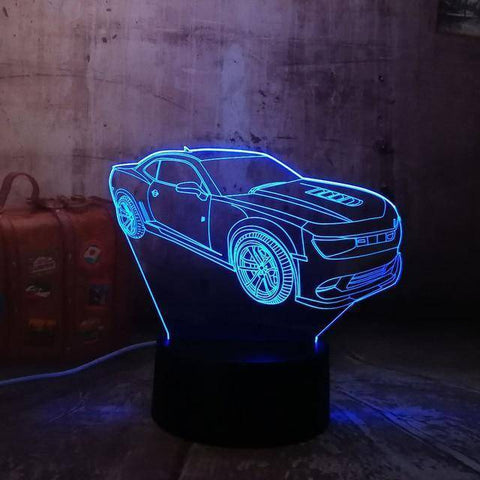 Image of Fancy Car 3D LED Lamp LEDMiracles Default Title