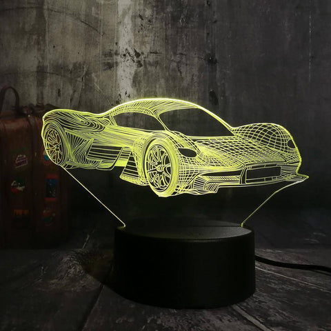 Ferrari 3D LED Lamp LEDMiracles