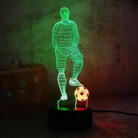 Play Football 3D LED Lamp LEDMiracles Default Title