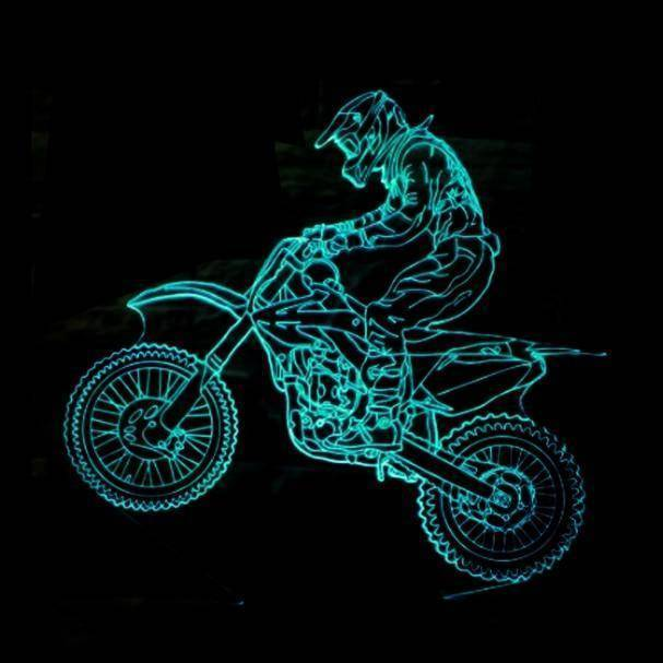 Extremity Motorcycle 3D LED Lamp LEDMiracles Default Title