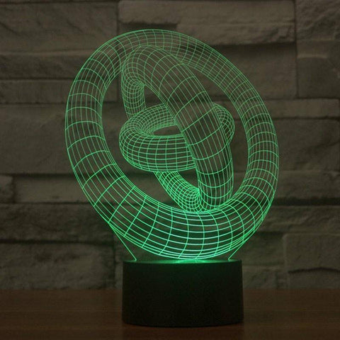 Ringio 3D LED Lamp LEDMiracles