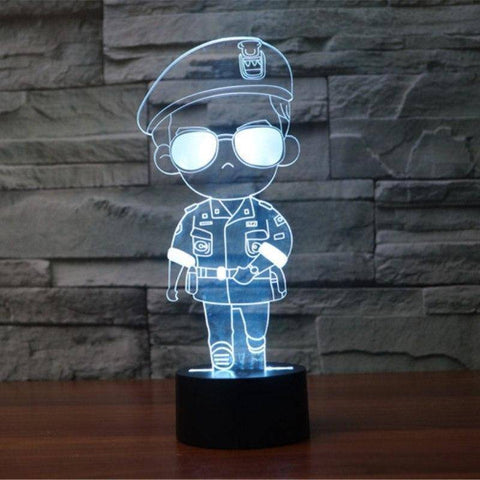 Song Joong Ki 3D LED Lamp
