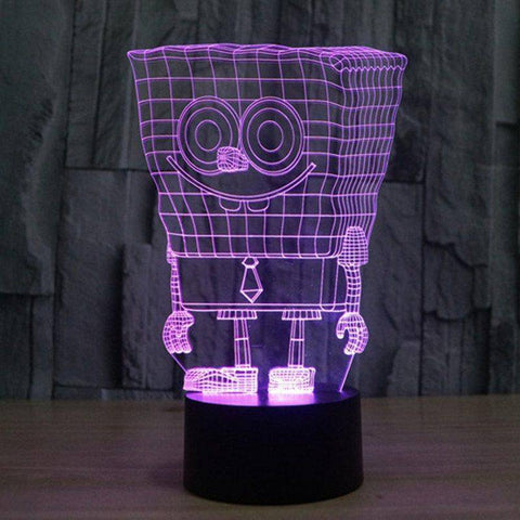 SpongeBob SquarePants 3D LED Lamp