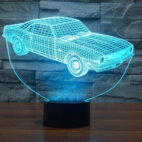 Image of Sports Car 3D LED Lamp LEDMiracles