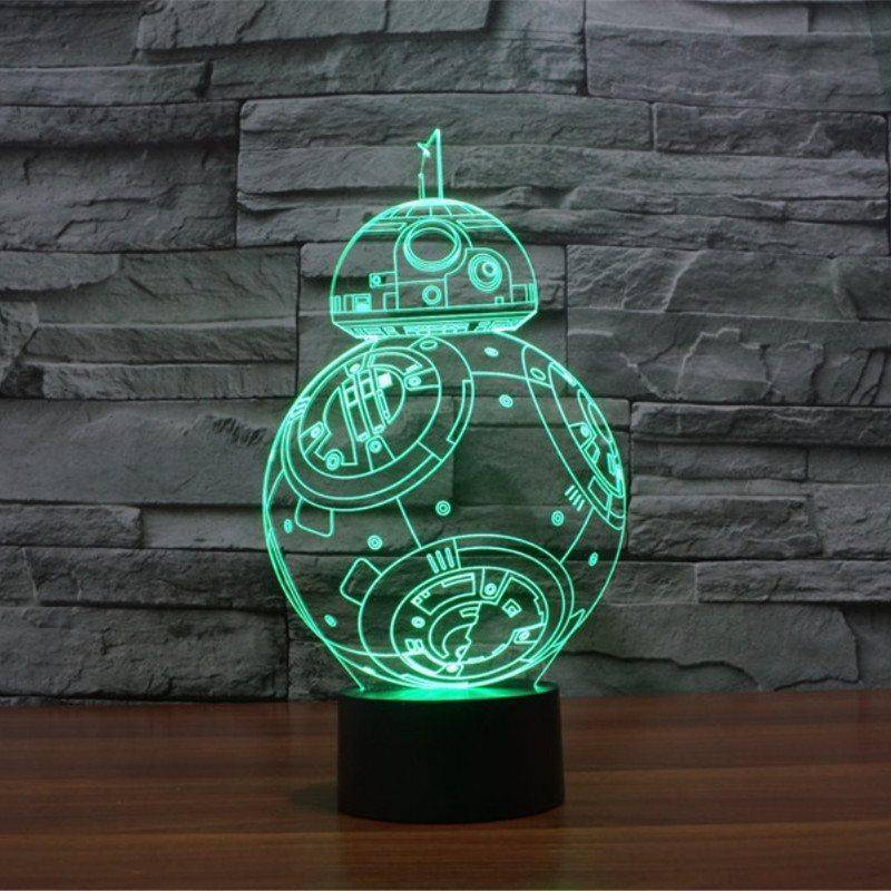 Star Wars BB-8 3D LED Lamp