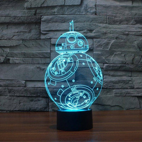 Star Wars BB-8 3D LED Lamp LEDMiracles