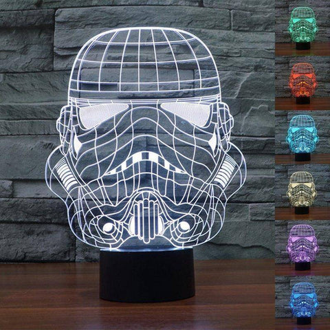 Star Wars Storm Trooper 3D LED Lamp