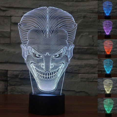 The Joker 3D LED Lamp