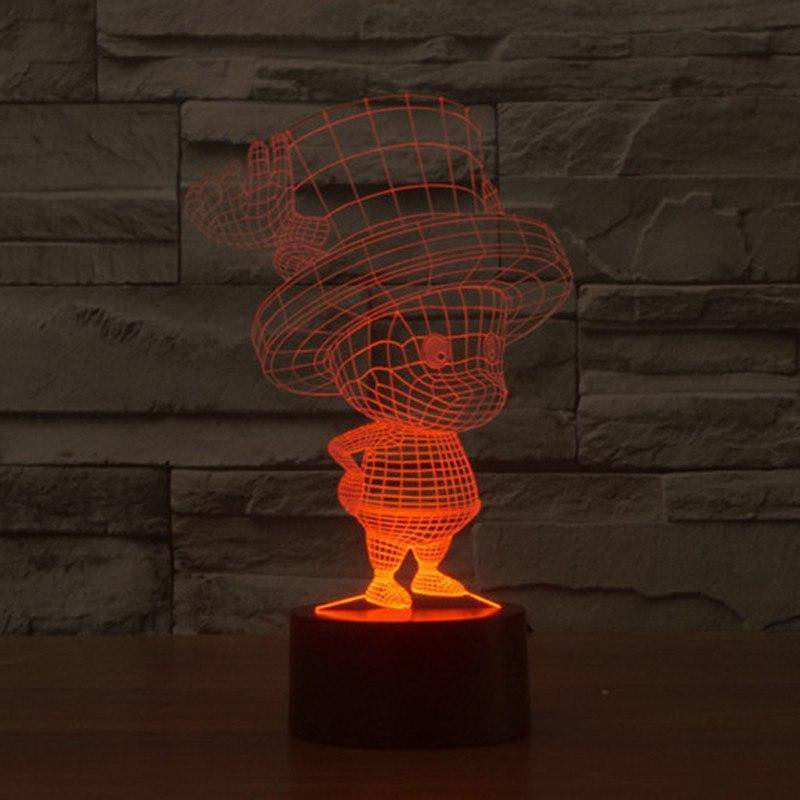 Tony Tony Chopper (One Piece) 3D LED Lamp