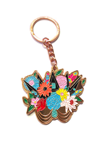 Keyring - Crown Gold