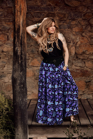 MumTum Shaper Long Skirt - Northern Lights