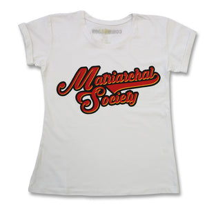 Retro Tee - Matriarchal - White