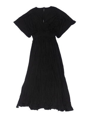 Split Dress - Black Hearted