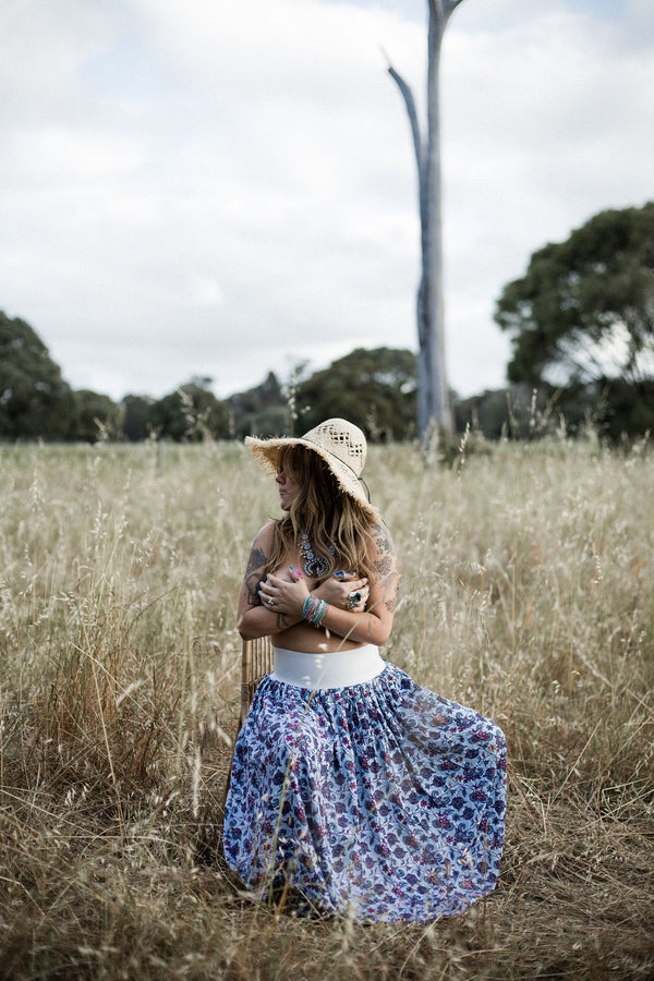 MumTum 2 Rustic Vines Long Skirt