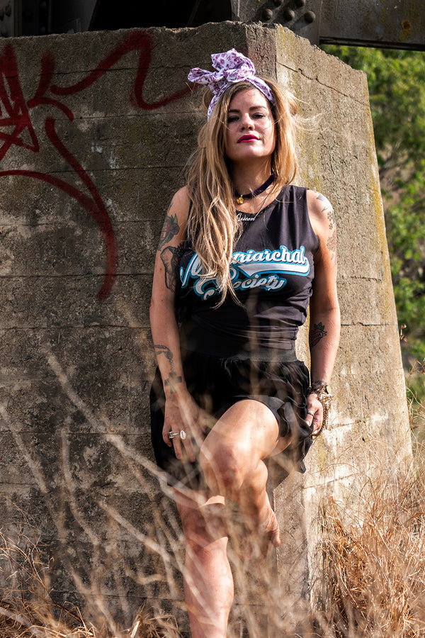 Retro Tank - Matriarchal - Black