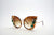 Queens Love - Excess Goddess Sunglasses - Leopard Brown