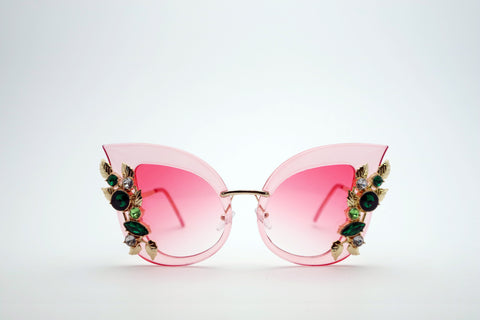 Queens Love - Pussy Power Sunglasses - Black Black