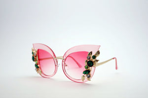 Queens Love - Excess Goddess Sunglasses - Pink Pink
