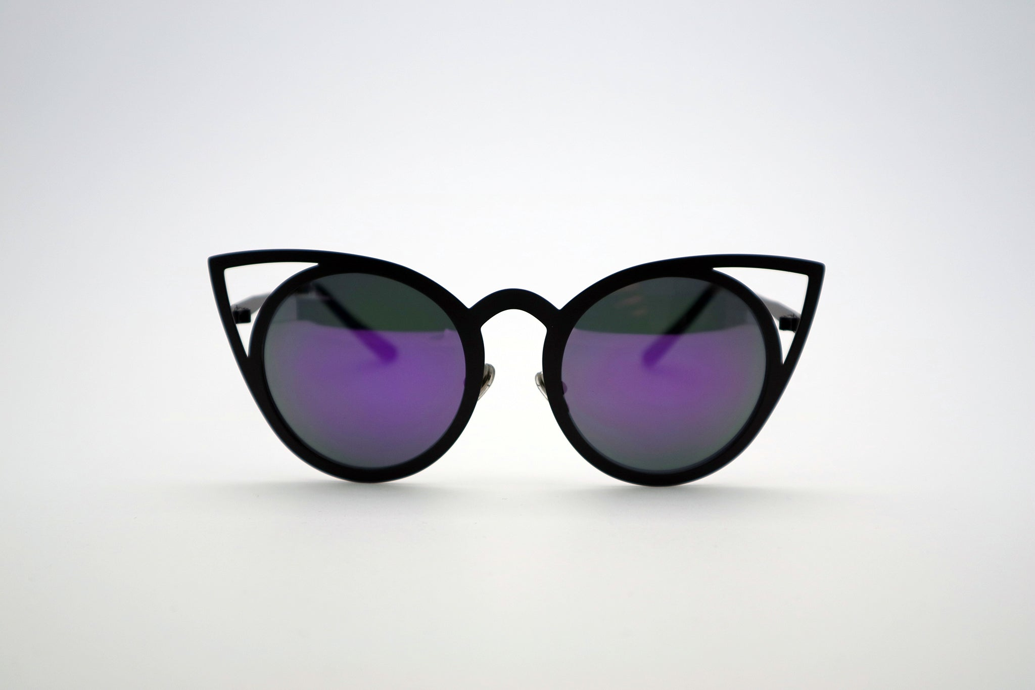 1ad7fc5163 Queens Love - Pussy Power Sunglasses - Black Purple