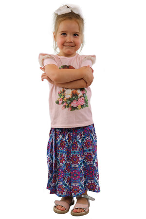 MINIMUM Multi Star Kids Skirt