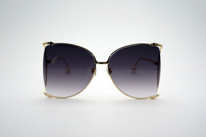 Queens Love - Woodstock Wonderland Fashion Spectacles - Gold Purple