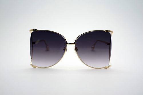 Queens Love - Woodstock Wonderland Sunglasses - Gold Purple Grey