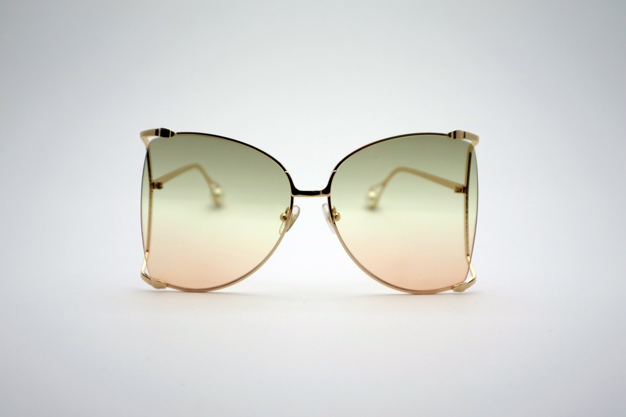 823ddf677f Queens Love - Woodstock Wonderland Sunglasses - Gold Smokey Pink ...