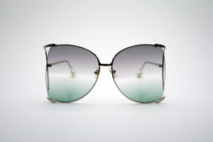 Queens Love - Woodstock Wonderland Sunglasses - Silver Purple Green