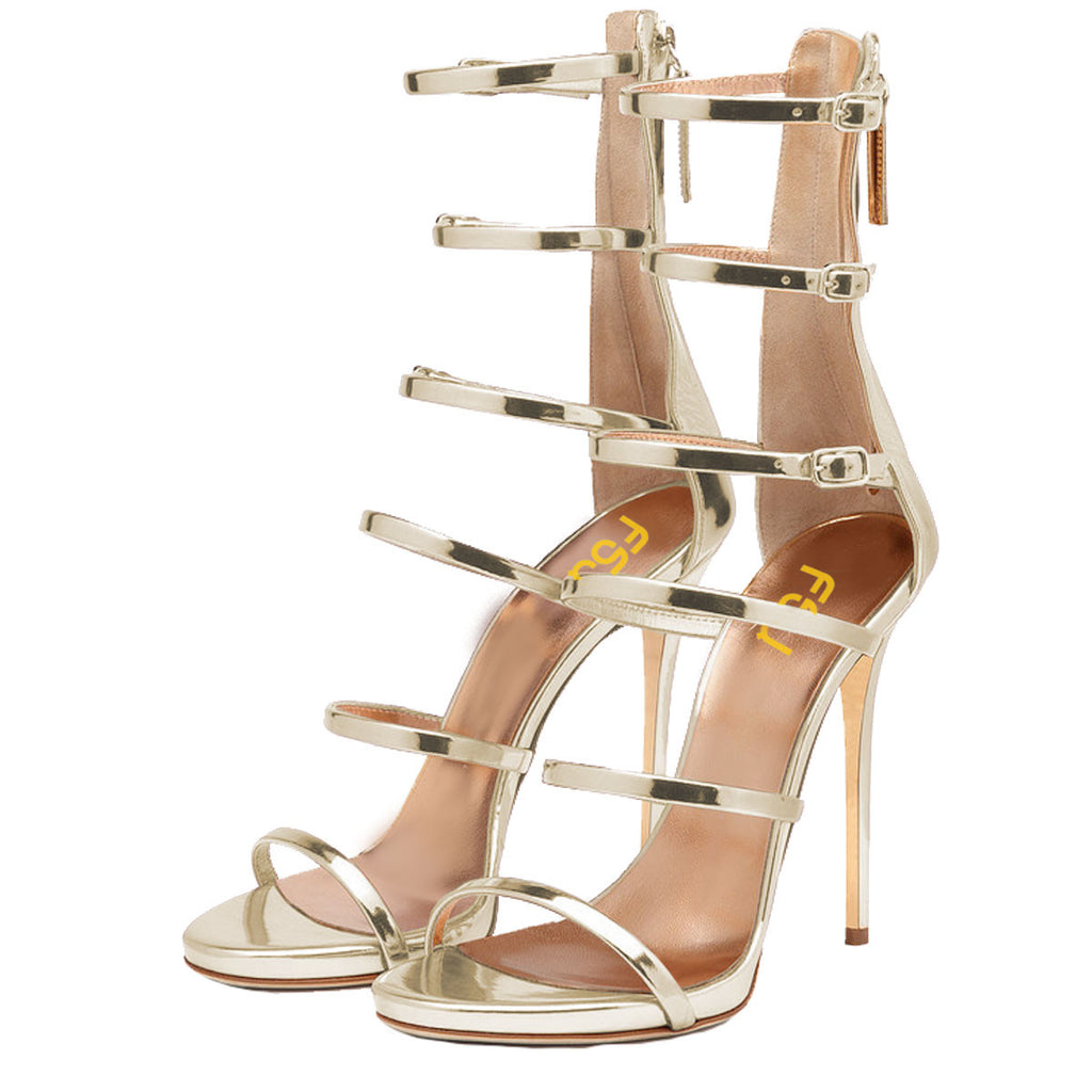 100% quality preview of sells FSJ Berly Olive Gladiator Sandals – FSJ Shoes