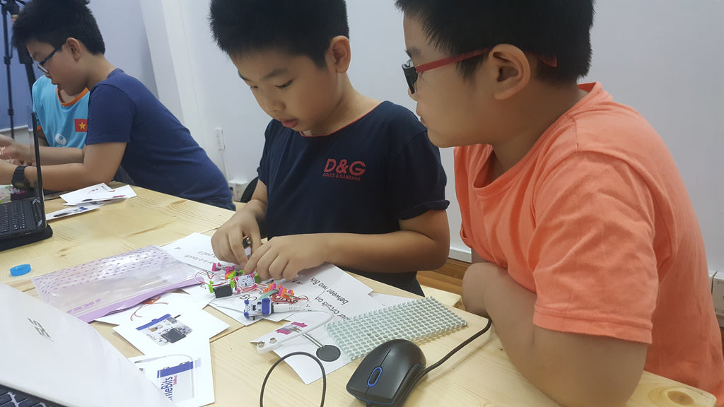 3D Printer and Littlebits Workshop in Ho Chi Minh City - 6 to 8 May 2017