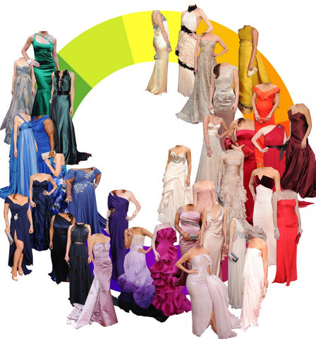 choose a correct color for prom dress