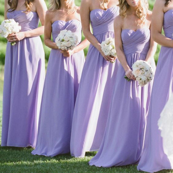lilac Bridesmaid Dress, sweetheart Bridesmaid Dress,chiffon Bridesmaid Dress,cheap Bridesmaid Dress,simple Bridesmaid Dress, BD5202