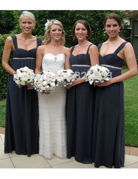 Classic Bridesmaid Dress,Spaghetti Bridesmaid Dress,Pretty Bridesmaid Dress , A-line Bridesmaid dress ,PD106