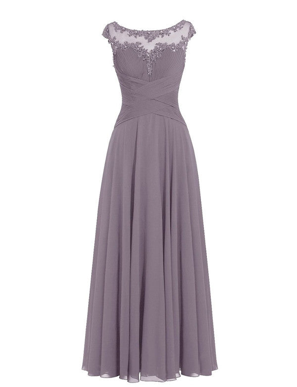 Grey Bridesmaid Dress,Simple Bridesmaid Dress,Pretty Bridesmaid Dress,Charming Bridesmaid dress ,PD141