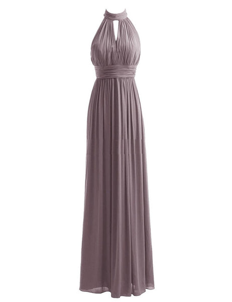 Sexy Bridesmaid Dress, Halter Bridesmaid Dress,Pretty Bridesmaid Dress,Charming Bridesmaid dress ,PD147