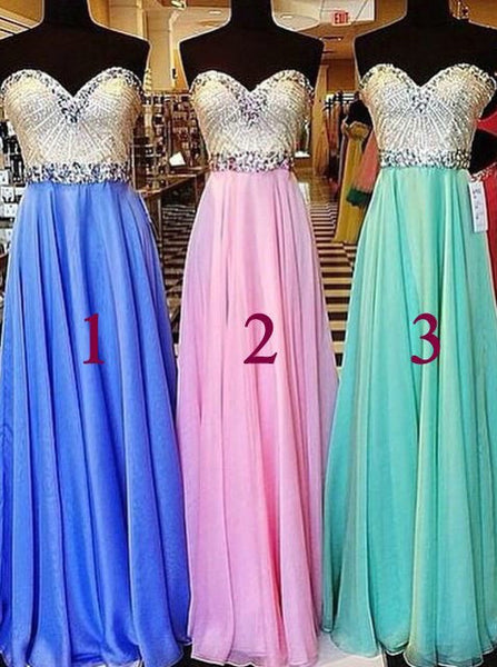 sweetheart prom dress, long prom dress, beaded prom dress, custom prom dress, evening dress 2017, BD143
