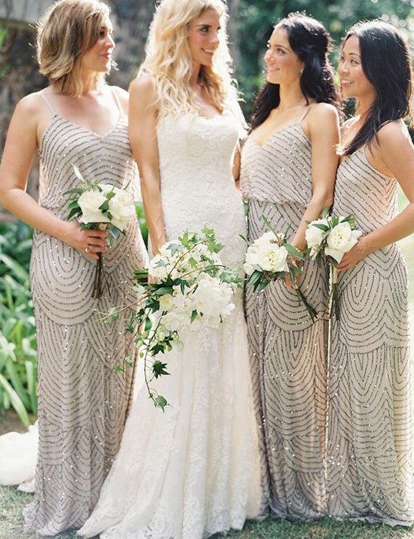 2948197280f18 Handmade bridesmaid dress,,Charming bridesmaid dress, Attractive bridesmaid  dress ,Floor-length Bridesmaid dress, ,PD75 - US0 / Pic color