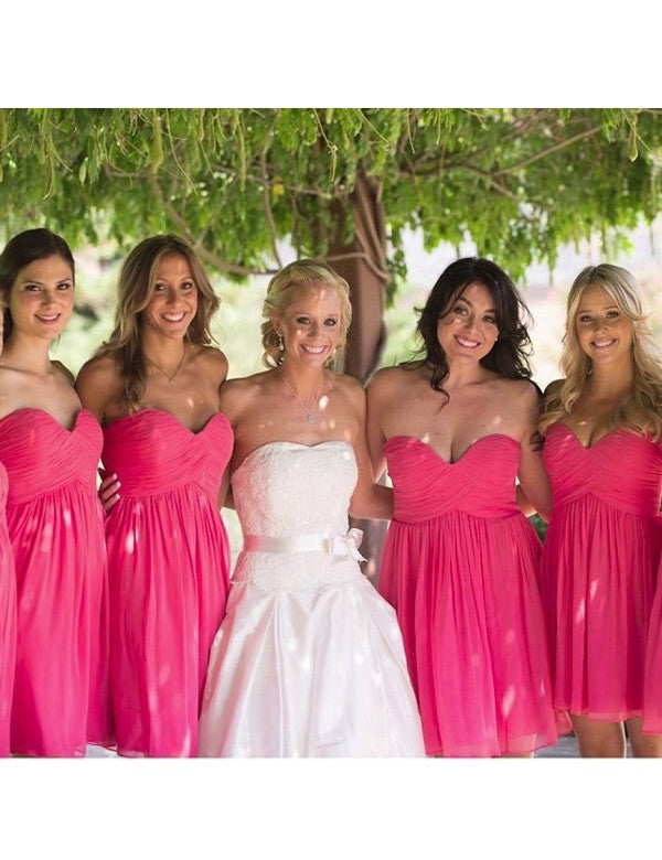 Cute Bridesmaid Dress,Simple Bridesmaid Dress,Cheap Bridesmaid Dress , A-line Bridesmaid dress ,PD98